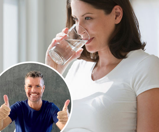Pete Evans believes pregnant women who drink tap water will have lower-IQ babies
