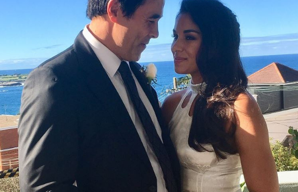 Surprise! James Stewart and Sarah Roberts had a second wedding ceremony in Sydney