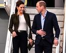 Prince William and Duchess Catherine touch down in Balmoral for special visit