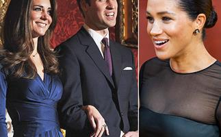 Um, what?! Kate Middleton's engagement ring was actually meant for Meghan Markle