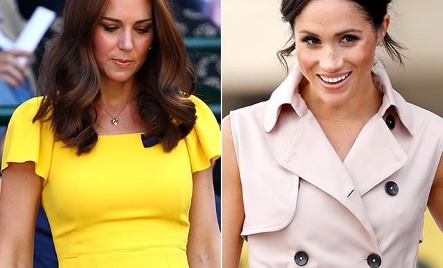 The surprising colour we've never seen Meghan Markle and Kate Middleton wear