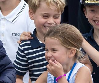 Prince George is helping Princess Charlotte before she starts school in a way that'll melt your heart