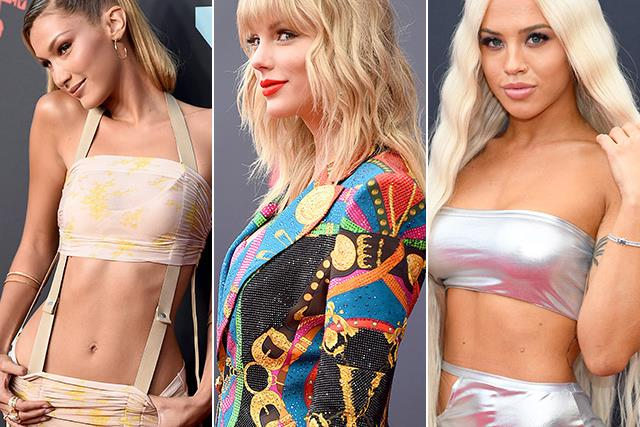 Sequins, satin and straight-up silliness: All the wildest fashion from the MTV VMAs red carpet