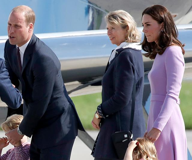 Duchess Catherine and Prince William spotted at airport with the kids after leaving Balmoral