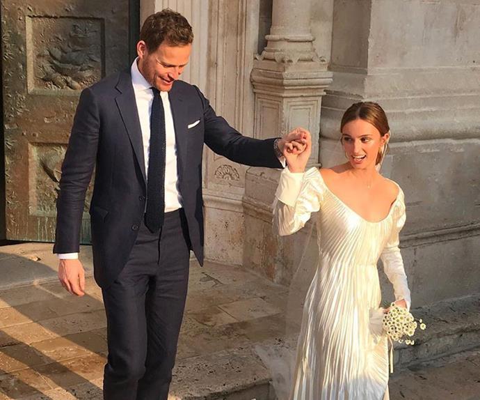 Inside Today Show host Tom Steinfort's glorious European wedding