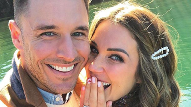 Bachelor wedding bells! Georgia Love and Lee Elliott just announced their engagement