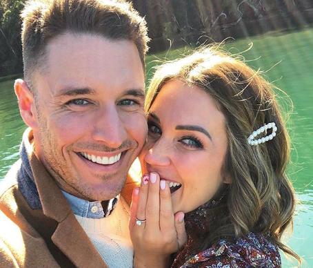 Bachelor wedding bells! Georgia Love and Lee Elliott just announced their engagement