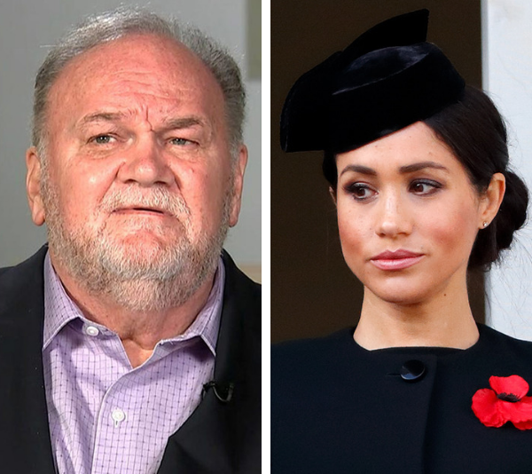 Meghan Markle's father Thomas Markle makes heartbreaking confession about his tragic rift with the Duchess