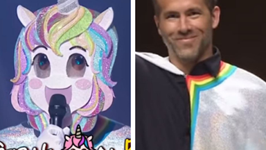 PSA: Ryan Reynolds was on the South Korean version of The Masked Singer and he was AMAZING
