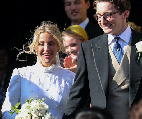 Ellie Goulding's stunning Chloé wedding dress was inspired by an unexpected royal's iconic style