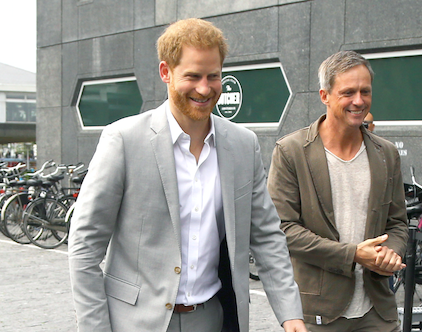 Prince Harry touches down in Amsterdam to launch his unique new travel project