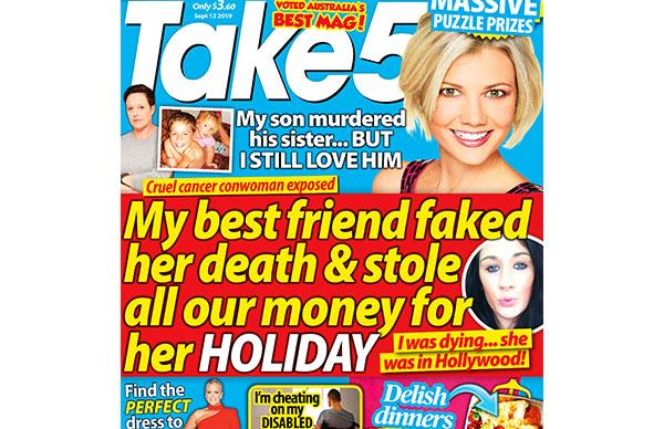 Take 5 Issue 37 Online Entry Coupon