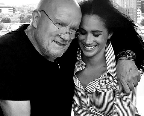 Meghan Markle shares rare intimate photo in tribute to Peter Lindbergh