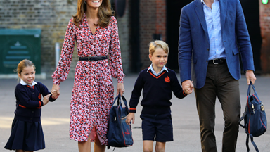 New pictures reveal Princess Charlotte's first day at school, and our hearts have melted