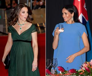 The reason Duchess Catherine and Duchess Meghan will never wear diamonds before 6pm