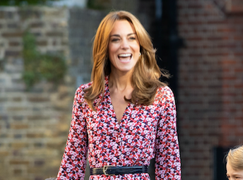 Kate Middleton's school drop off dress is our ultimate Spring inspiration