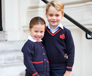 Duchess Catherine and Prince William just dropped a gorgeous new picture of George and Charlotte heading to school