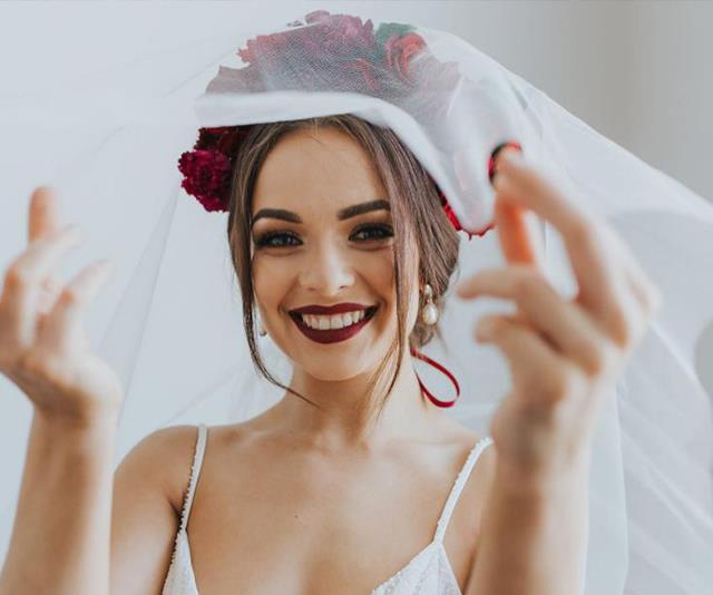 REVEALED: The Bachelor's Abbie's wedding dress pictures we weren't meant to see