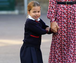 Did you spot the special detail on Princess Charlotte's school bag?