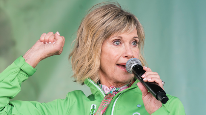 Olivia Newton-John reveals how cannabis has helped her cancer battle
