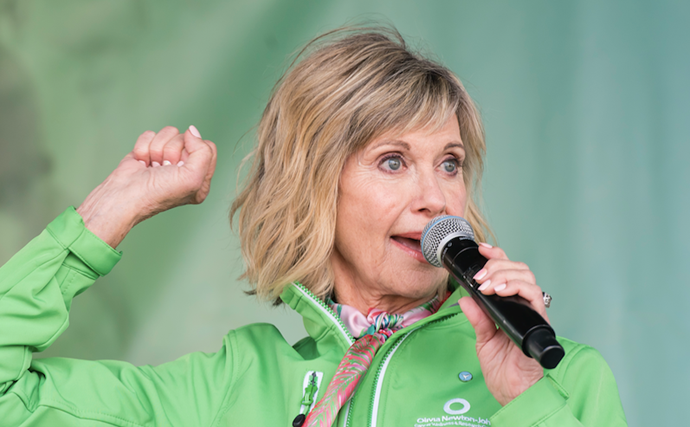 Olivia Newton-John reveals how cannabis has helped her cancer battle