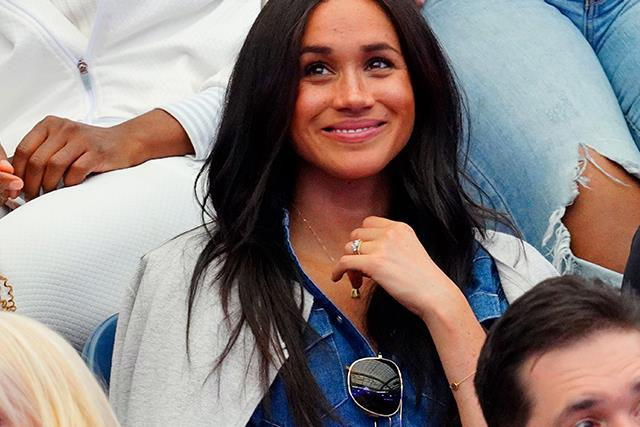 Duchess Meghan's sweet tribute to Prince Harry at the US Open