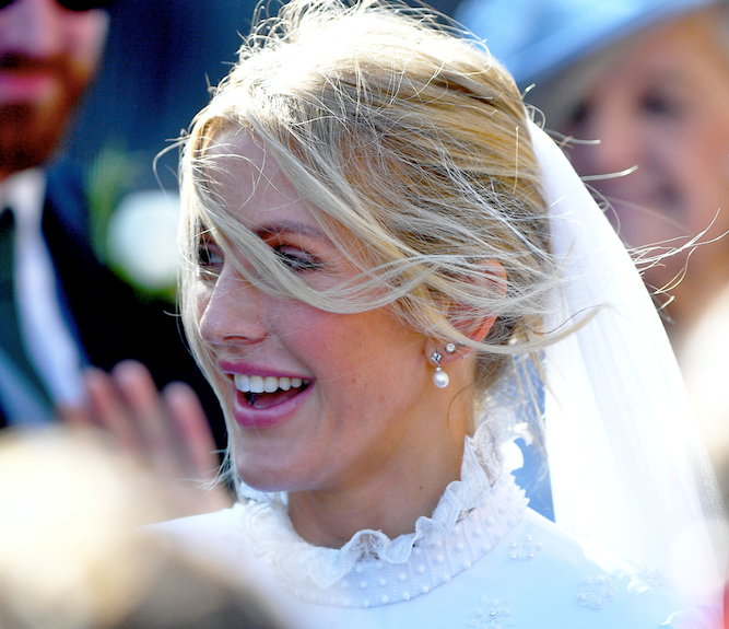 Ellie Goulding's FIFTH wedding dress has been revealed, and it's black!