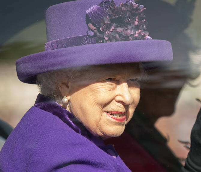 The royals are out! The Queen wears popping purple to the Braemar Games - see who joined her