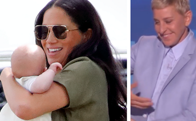 Ellen DeGeneres reveals she's met baby Archie, and he's the spitting image of his dad