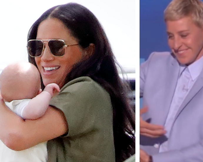 Ellen DeGeneres reveals she's met baby Archie, and he's the spitting image of his dad