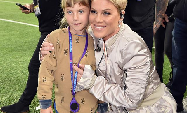 Pink's daughter Willow has a new punk rocker haircut and her parents couldn't be happier