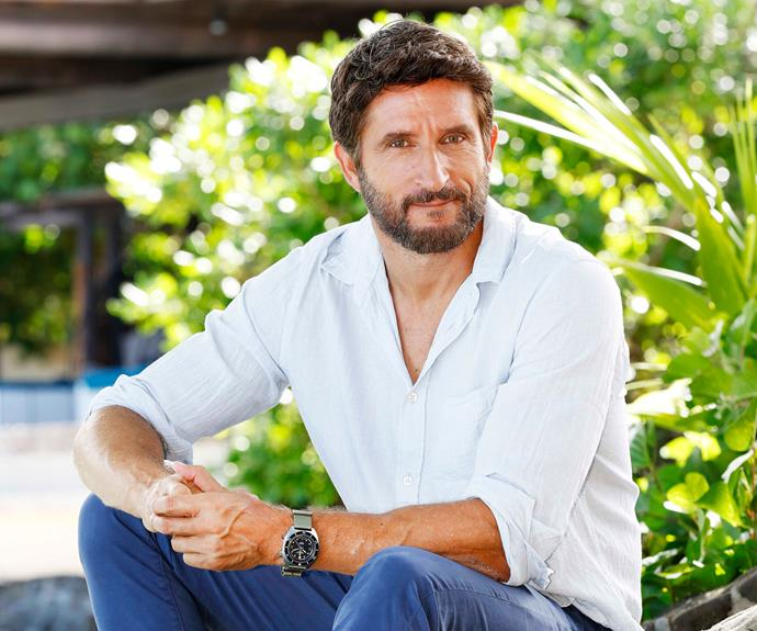Jonathan LaPaglia enjoys keeping one foot on the Australian Survivor island and another in the acting community he loves