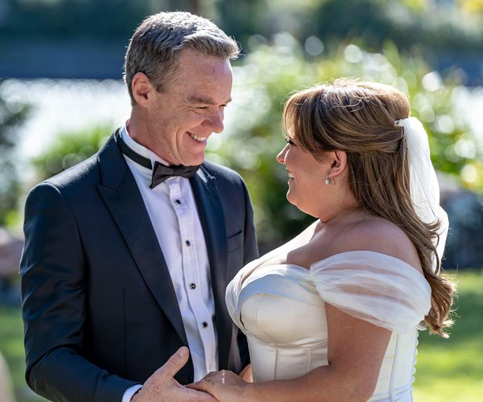 Paul and Terese finally tie the knot on Neighbours! Go inside their dramatic wedding day
