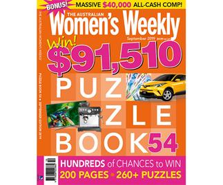 The Australian Women's Weekly Puzzle Book Issue 54