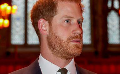 Prince Harry's passionate, emotional speech marking a huge milestone will melt your heart