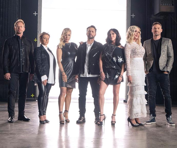 Here's when the BH90210 revival is set to premiere in Australia