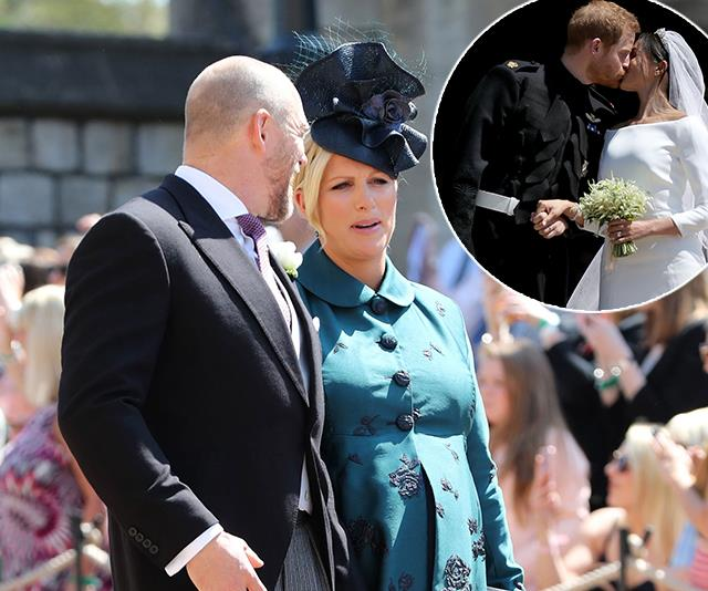 "Zara Tindall reveals she was ""uncomfortable"" at Prince Harry and Duchess Meghan's wedding"