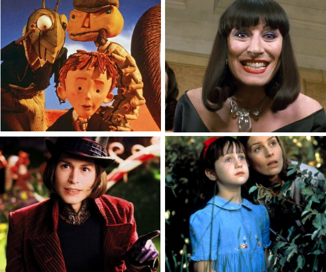 The Roald Dahl stories that became the movies we fell in love with