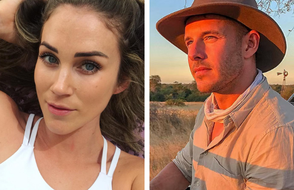 """Georgia Love on her fiancé Lee Elliott: """"The first year of our relationship was f**ked"""""""