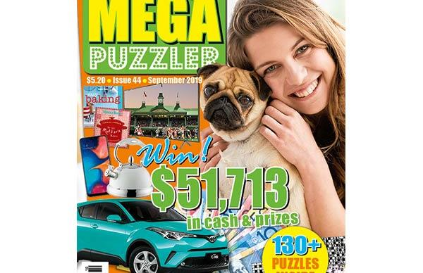 Take 5 Mega Puzzler Issue 44 Online Entry Coupon