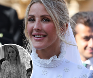 Ellie Goulding drops brand new photo of her gorgeous wedding reception dress
