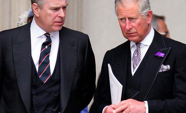 Royal brothers at war! Princes Charles versus Prince Andrew