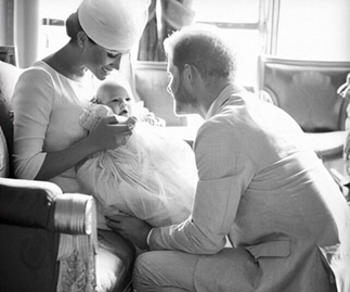 Sussex Royal release never-before-seen photo of Archie for Prince Harry's birthday