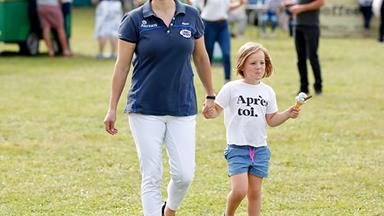 Zara Tindall had the cutest ice cream date with daughter Mia at the Gatcombe Horse Trials