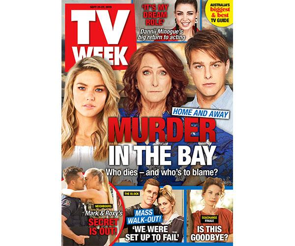 Enter TV WEEK Issue 38 Puzzles Online