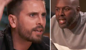 Scott Disick is raging in an explosive fight with Corey Gamble over threats to discipline Penelope