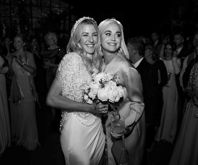Ellie Goulding and Katy Perry's sweet moment captured on camera