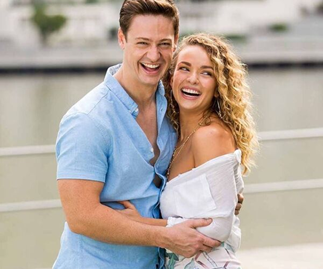 The road to finale: The Bachelor's Matt Agnew and Abbie Chatfield's love story in pictures