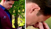 A brand new promo video for The Bachelor finale shows Matt Agnew totally freaking out
