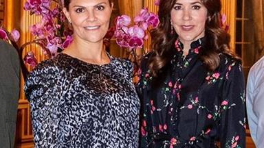 Crown Princess Mary's latest style twin is a Scandinavian royal too
